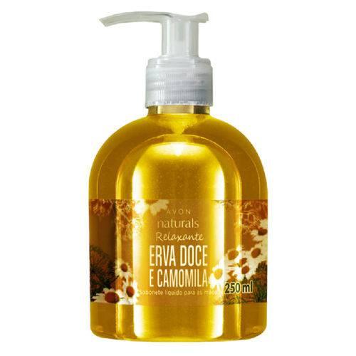 Sabonete Líquido Naturals Erva Doce e Camomila - 250 Ml