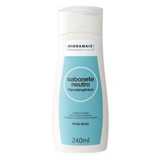 Sabonete Líquido Neutro Hidramais - Hipoalergênico 240ml