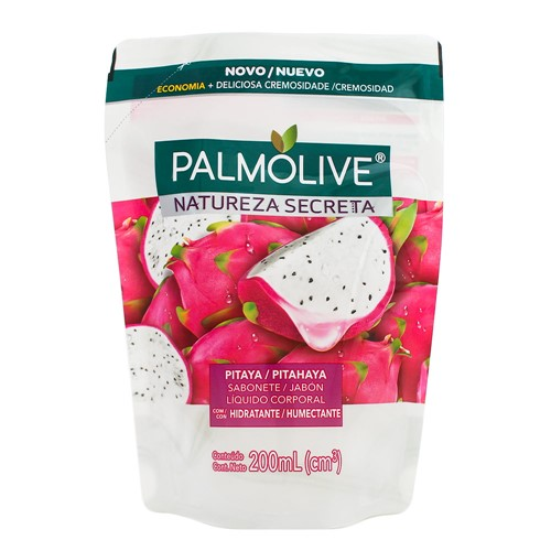 Sabonete Líquido Palmolive Natureza Secreta Pitaya Refil 200ml