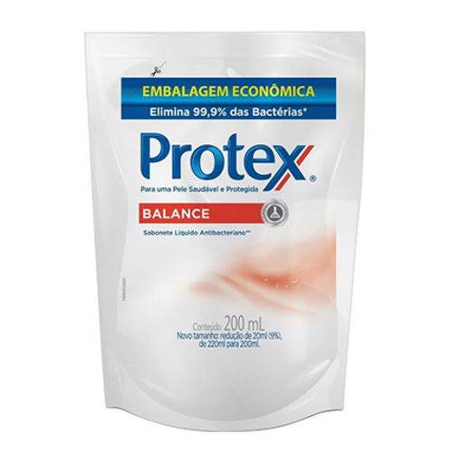 Sabonete Líquido Protex Anti-Bacteriano Balance Refil 200ml