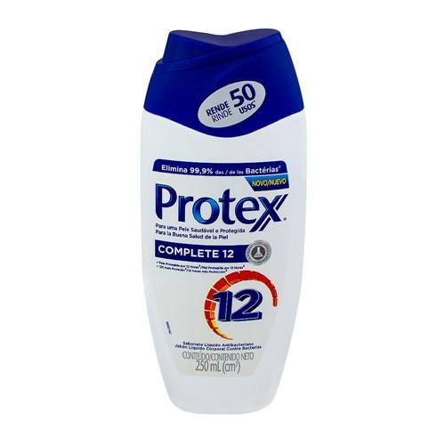 Sabonete Líquido Protex Complete 12 com 250ml