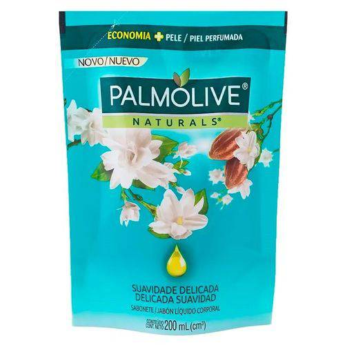 Sabonete Líquido Refil Palmolive Naturals Suavidade Delicada 200ml