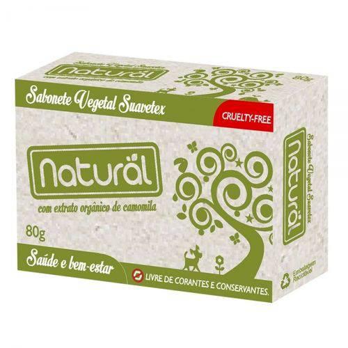 Sabonete Natural e Vegano de Camomila 80g Contente