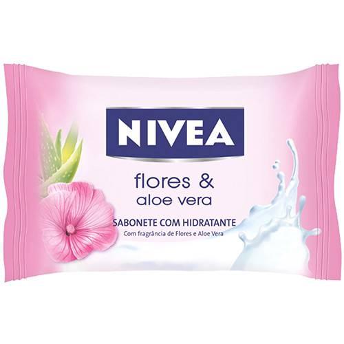 Sabonete Nivea Hidratante Flores Orientais 90g