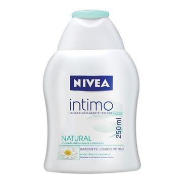 Sabonete Nivea Íntimo Natural 250ml