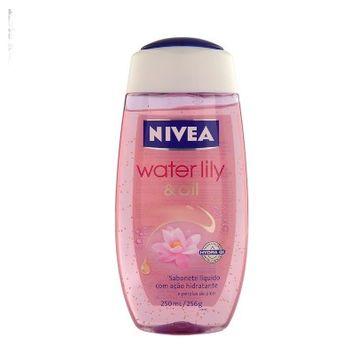 Sabonete Nivea Water Lily Oil Gel 256g