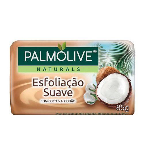 Sabonete Palmolive Esfoliação Suave Coco e Algodão 85g
