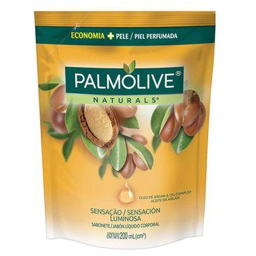 Refil de Sabonete Líquido Corporal Palmolive Naturals Sensação Luminosa 200ml