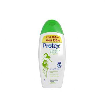 Sabonete Líquido Corporal Protex Cuidado Íntimo Fresh Equilibrium 200ml Promo Leve 200ml Pague 150ml