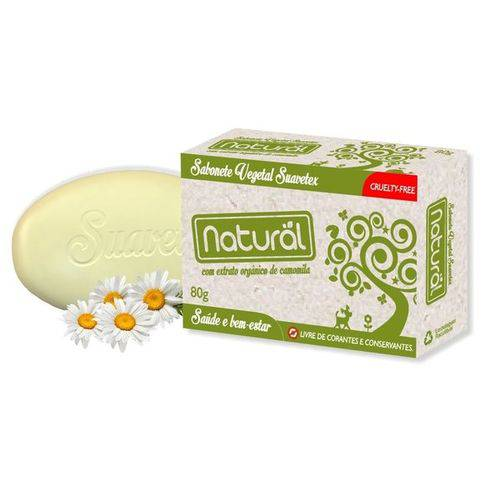 Sabonete Vegetal Natural de Camomila - Orgânico Natural - 80g