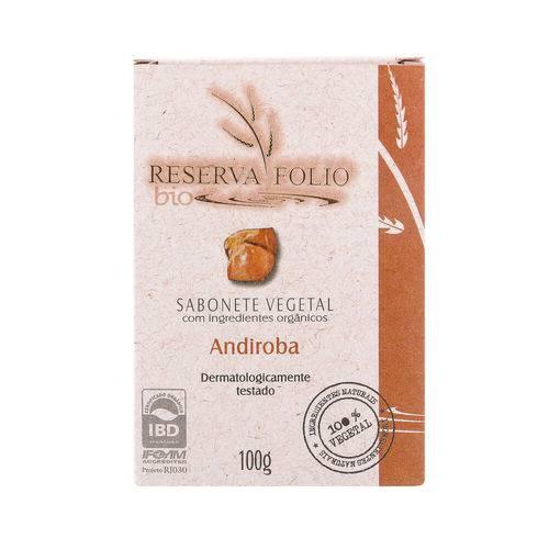 Sabonete Vegetal Orgânico Andiroba 100g – Reserva Folio