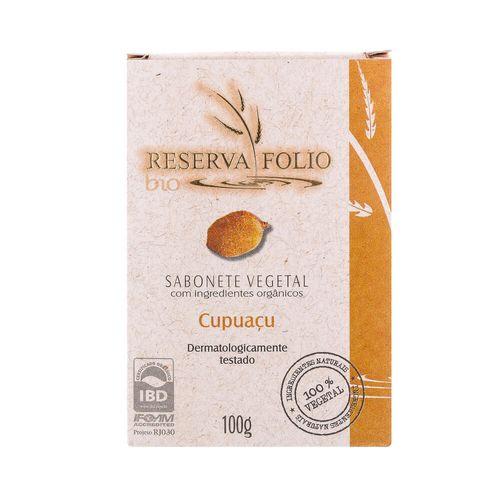 Sabonete Vegetal Orgânico Cupuaçu 100g – Reserva Folio
