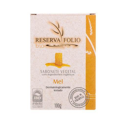 Sabonete Vegetal Orgânico Mel 100g – Reserva Folio