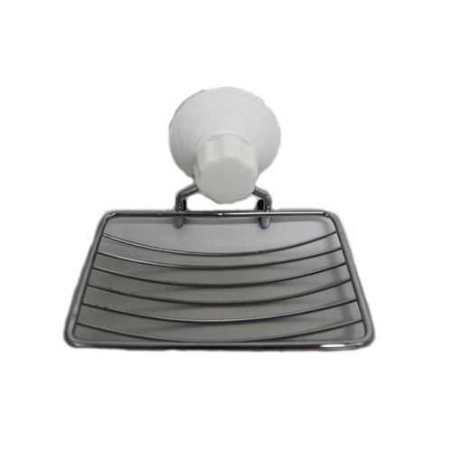 Saboneteira com Ventosa Sq-1929 Basic Kitchen