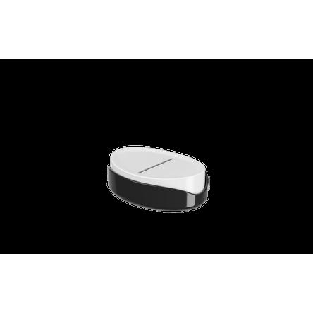 Saboneteira Full 12,1 X 8,65 X 3,7 Cm Preto Coza