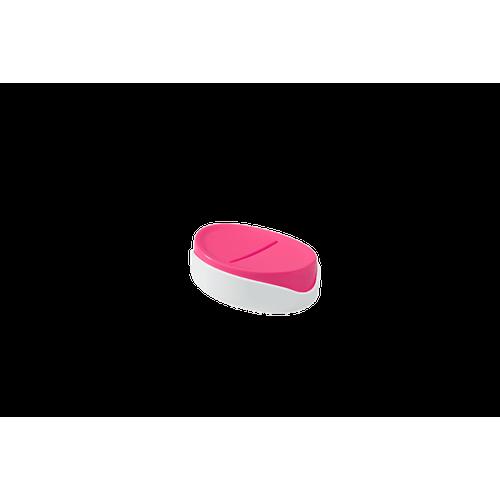 Saboneteira Full 12,1 X 8,65 X 3,7 Cm Rosa Coza