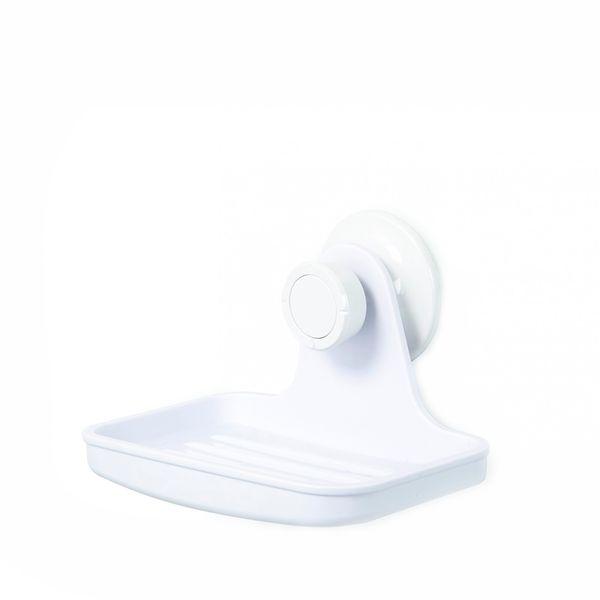 Saboneteira Gel-Lock Umbra Branca 13x10 - 29292