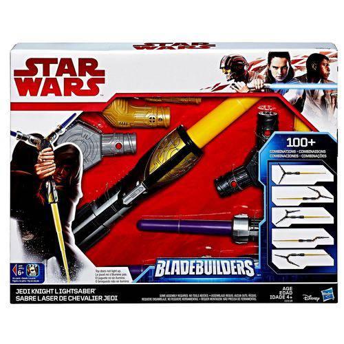 Sabre de Luz Eletrônico Disney Star Wars Jedi Knight Hasbro