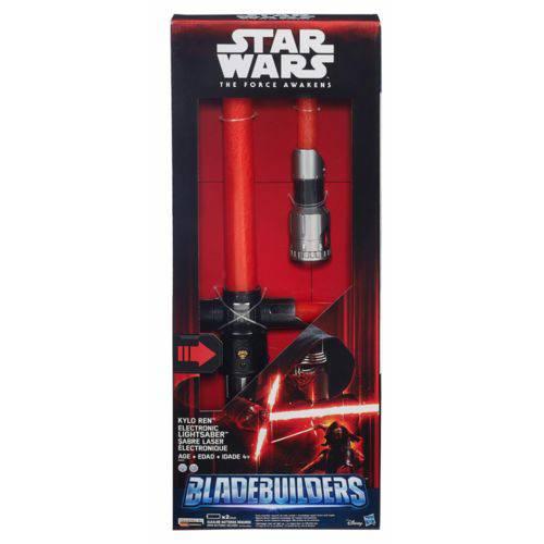 Sabre de Luz Eletrônico Kylo Ren - Star Wars The Force Awakens