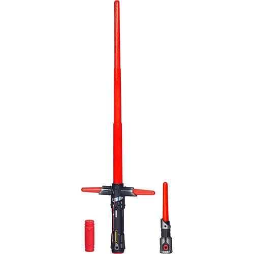 Sabre de Luz Eletrônico Star Wars EP VII Vilão Kylo Ren - Hasbro