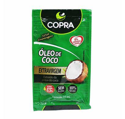 Sachê Óleo de Coco Extra Virgem 15ml - Copra