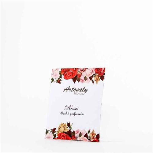 Sachê Perfumado 15gr Rosas - Artesaly