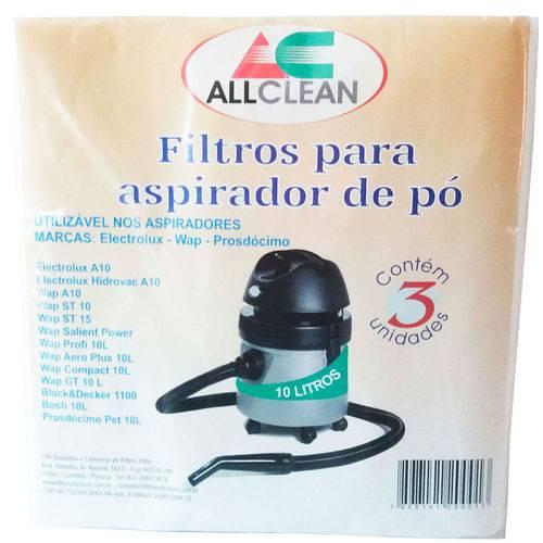 Saco Aspirador Po Electrolux A10 Wap A10 Black&decker 1100