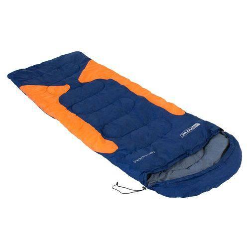 Saco de Dormir Freedom -1,5ºc a -3,5ºc Azul e Laranja - Nautika