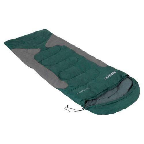Saco de Dormir Freedom para Camping-1,5ºc à -3,5ºc Verde e Cinza - Nautika