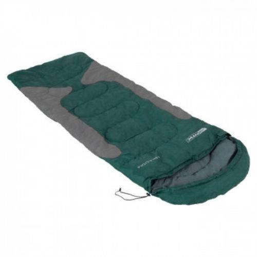 Saco de Dormir Freedom de -1,5 C a -3,5 C Verde e Cinza Nautika