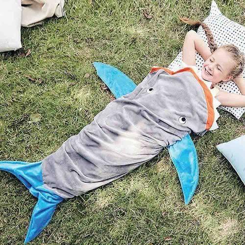 Saco de Dormir Infantil Baleia - Bouton