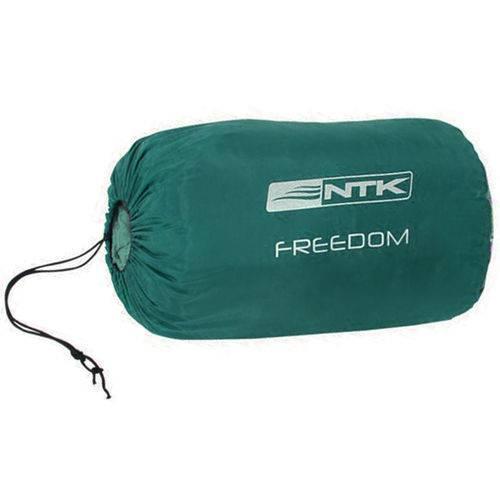 Saco de Dormir Nautika Freedom Verde e Cinza