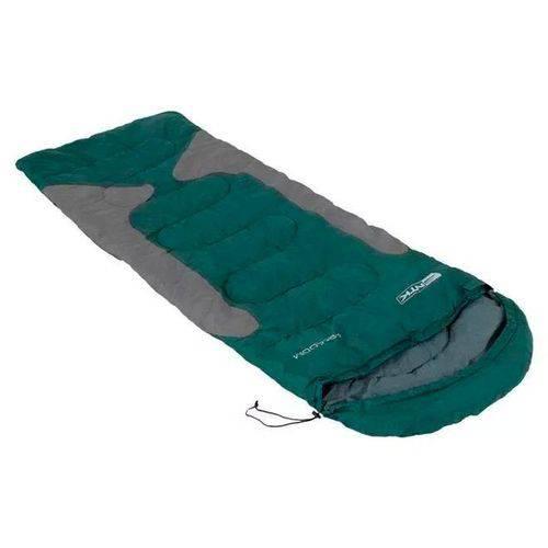 Saco Dormir Freedom -1,5ºc a -3,5ºc Verde com Cinza Nautika
