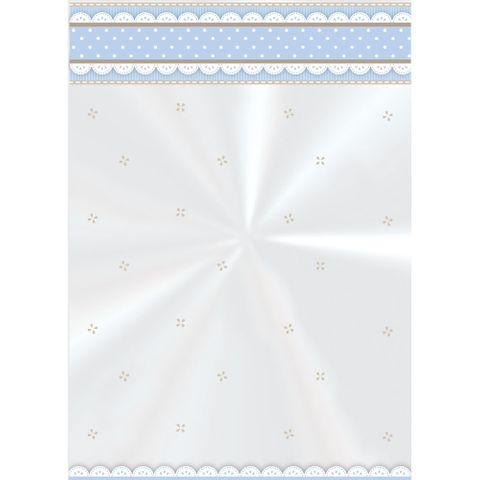 Saco Poli Cute Azul 10x14cm C/50 - Cromus