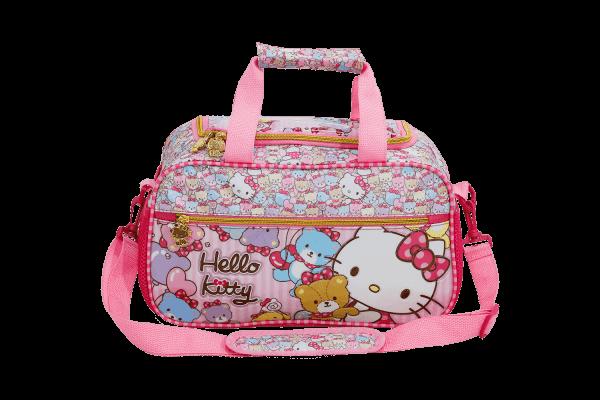 Sacola Infantil Hello Kitty Tiny Bears 7867
