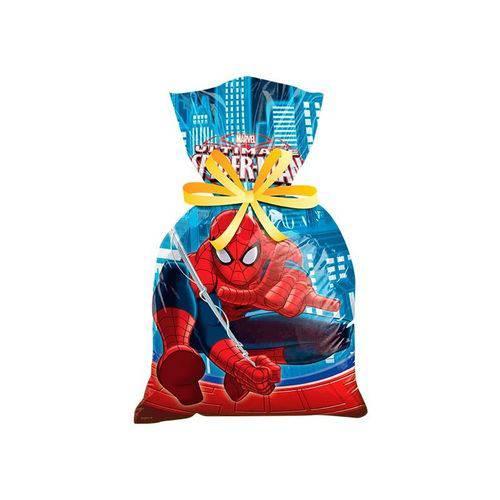 Sacola Plástica Ultimate Spider Man - 08 Unidades