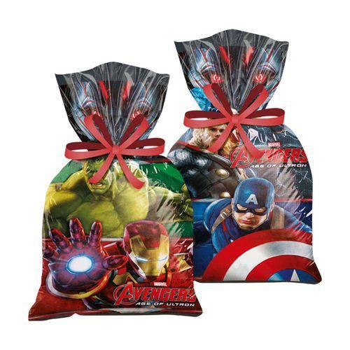 Sacola Surpresa Avengers C/8 Unidades