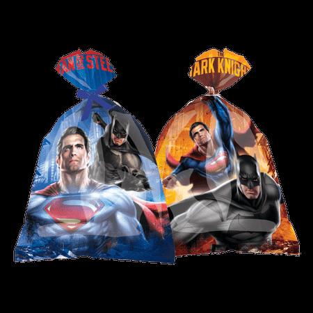 Sacola Surpresa Batman Vs. Superman Sacola Surpresa Plástica Batman Vs. Superman - 08 Unidades