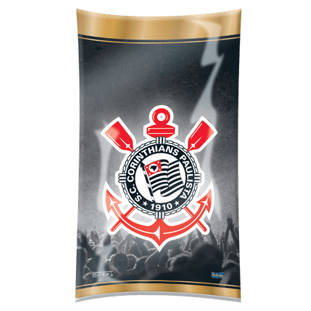 Sacola Surpresa Plástica Corinthians - 08 Unidades - Festcolor
