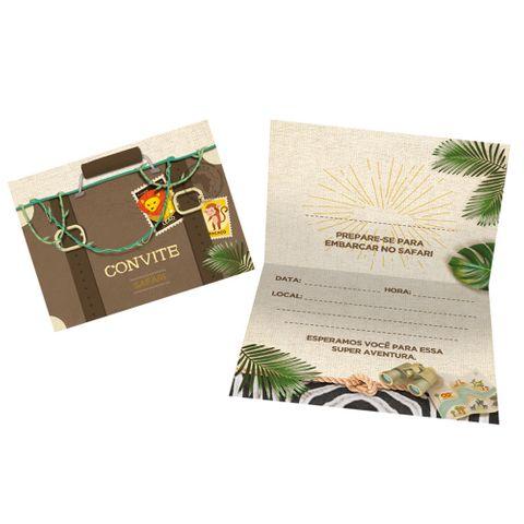 Safari Convite C/8 - Regina