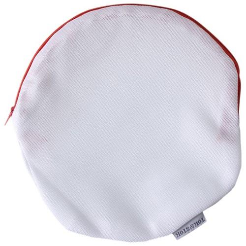 Safe Saco Protetor P/ Lavar Lingerie Branco/koral