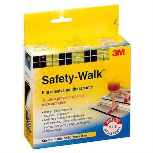 Safety Walk PVC Transparente 50mm X 5m - HB004384663 - 3M