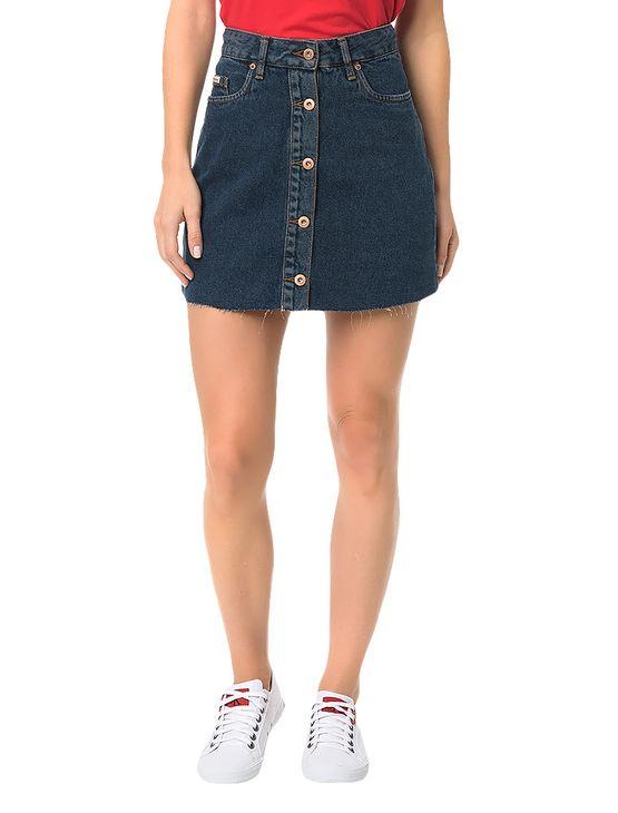Saia Calvin Klein Jeans Five Pockets Marinho - 34
