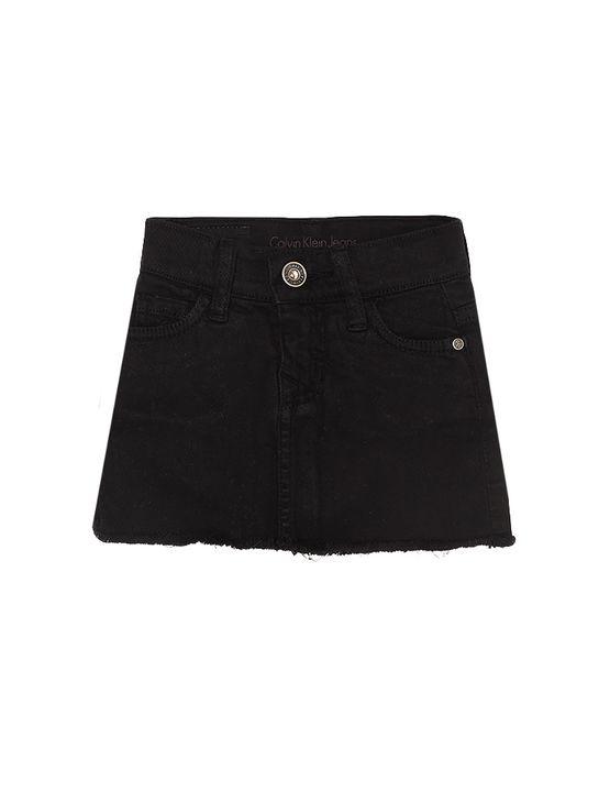 Saia Color Infantil Calvin Klein Jeans Five Pockets Preto - 6