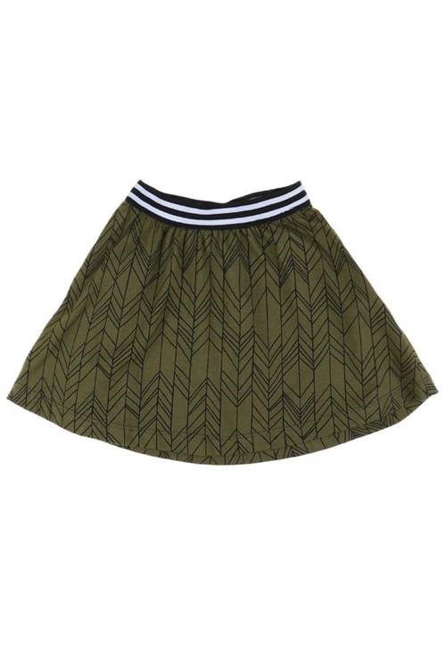 Saia Infantil Bambu 02 - Verde Musgo