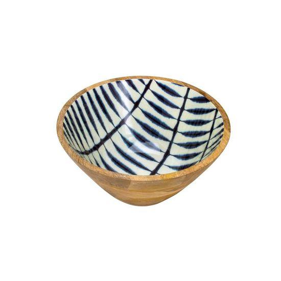 Saladeira Blue 30 Cm Marrom