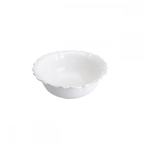 Saladeira Oval Fancy 25 Cm Branco