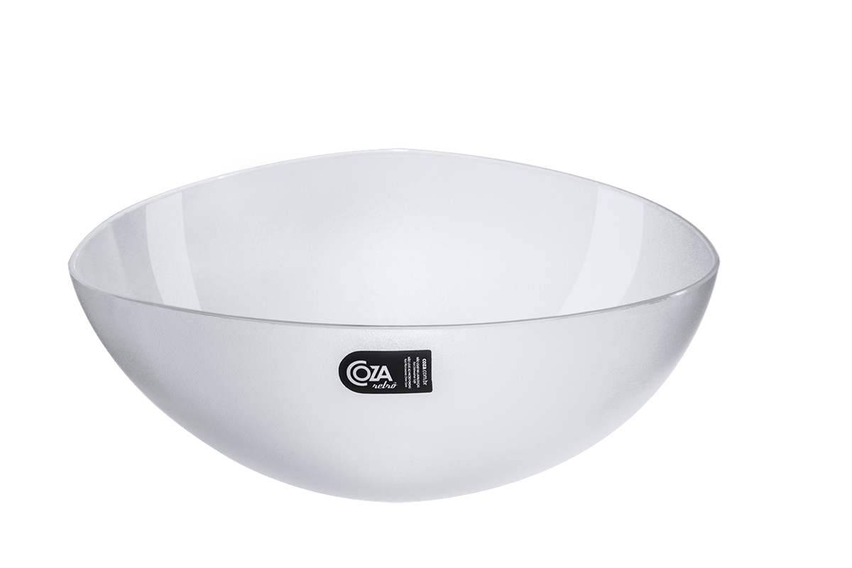 Saladeira Triangular 3,5 L Essential 28,2 X 27,8 X 10,5 Cm Cristal Coza