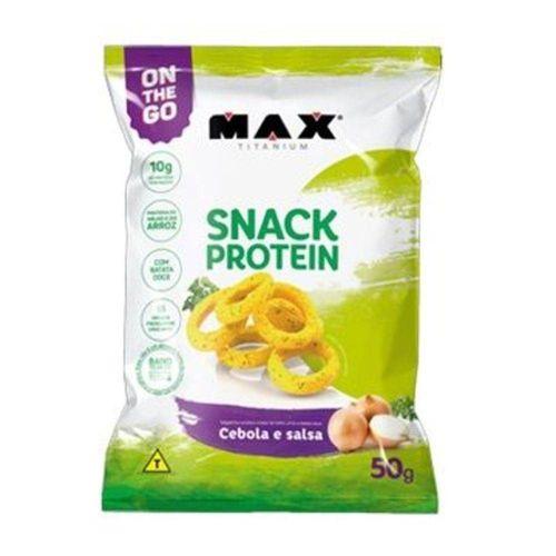 Salgadinho Snack Protein - Max Titanium - 50g
