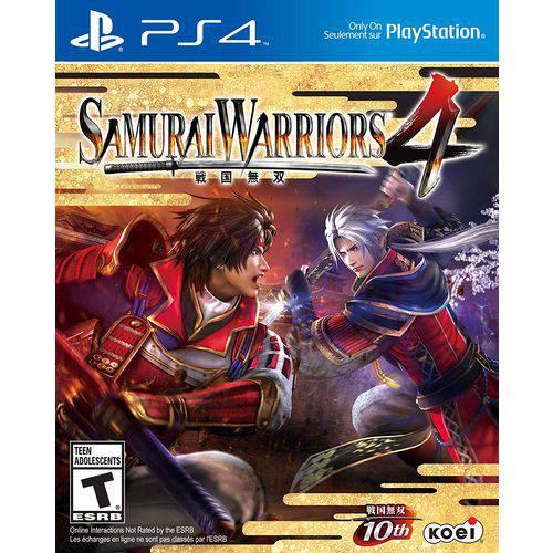 Samurai Warriors 4 - Ps4